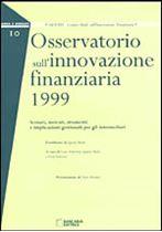 Immagine di Osservatorio sull`innovazione finanziaria 1999