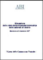 Immagine di Rilevazione dello stato della sicurezza informatica delle aziende di credito (Situazione al 31.12.1997)