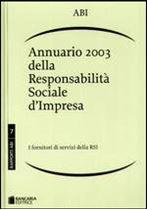 Immagine di Annuario 2003 della Responsabilità Sociale d'Impresa