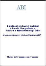 Immagine di Il servizio di gestione di portafogli e i servizi di negoziazione, ricezione e trasmissione degli ordini