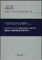 Immagine di Studi per il cinquantenario della legge bancaria
