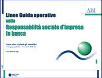 Immagine di Linee Guida operative sulla Responsabilità sociale d'impresa in banca
