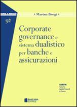 Immagine di Corporate governance e sistema dualistico per banche e assicurazioni