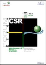Immagine di FORUM CSR. Atti del Convegno ABI del 3 e 4 ottobre 2005