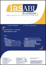 Immagine di Ias ABI BlueBook n.28 del 17 aprile 2006