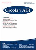 Immagine di Circolari ABI n. 40 del 2 novembre 2009