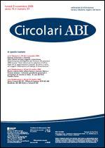 Immagine di Circolari ABI n. 41 del 9 novembre 2009