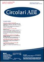 Immagine di Circolari ABI n. 43 del 23 novembre 2009