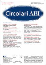 Immagine di Circolari ABI n. 48 del 31 dicembre 2007