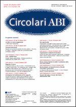 Immagine di Circolari ABI n. 39 del 29 ottobre 2007