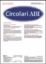 Immagine di Circolari ABI n. 15 del 28 aprile 2008