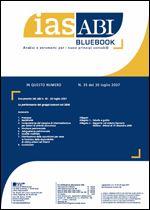 Immagine di Ias ABI BlueBook n.35 del 30 luglio 2007