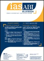 Immagine di Ias ABI BlueBook n.37 del 21 gennaio 2007