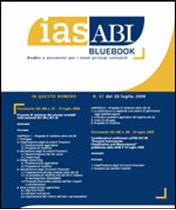 Immagine di Ias ABI BlueBook n.47 del 20 luglio 2009