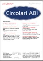 Immagine di Circolari ABI  n. 34 del 26 settembre 2005
