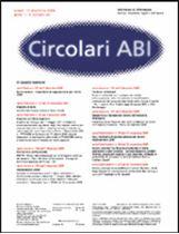 Immagine di Circolari ABI n. 45 del 12 dicembre 2005
