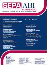 Immagine di SEPA ABI BlueBook n. 10 del 7 aprile 2008