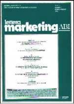 Immagine di Lettera Marketing ABI n. 3/1996