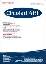 Immagine di Circolari ABI n. 39 del 25 ottobre 2010