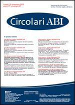 Immagine di Circolari ABI n. 47 del 20 dicembre 2010