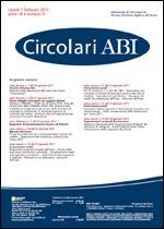 Immagine di Circolari ABI n. 4 del 7 febbraio 2011
