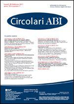 Immagine di Circolari ABI n. 7 del 28 febbraio 2011