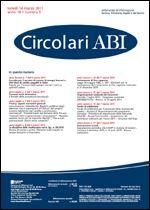 Immagine di Circolari ABI n. 9 del 14 marzo 2011
