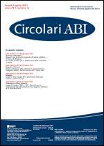 Immagine di Circolari ABI n. 12 del 4 aprile 2011