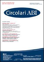 Immagine di Circolari ABI n. 33-34 del 19 settembre 2011