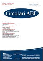 Immagine di Circolari ABI n. 43 del 21 novembre 2011