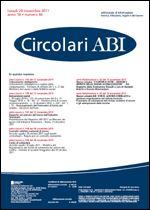 Immagine di Circolari ABI n. 44 del 28 novembre 2011