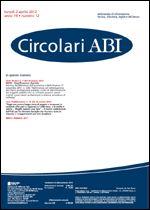 Immagine di Circolari ABI n. 12 del 2 aprile 2012