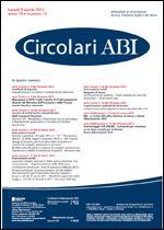 Immagine di Circolari ABI n. 13 del 9 aprile 2012