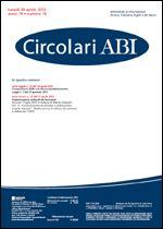 Immagine di Circolari ABI n. 16 del 30 aprile 2012