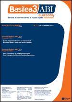 Immagine di Basilea3 ABI BlueBook n.17 del 3 ottobre 2012