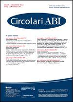 Immagine di Circolari ABI n. 47 del 17 dicembre 2012