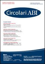 Immagine di Circolari ABI n. 39-40 del 4 novembre 2013