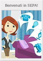 """Immagine di WebCartoon """"Benvenuti in SEPA!"""""""