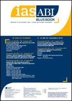 Immagine di Ias ABI BlueBook n. 68 del 22 novembre 2013