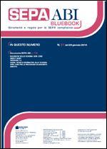 Immagine di SEPA ABI BlueBook N. 27 del 29 gennaio 2014
