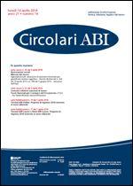 Immagine di Circolari ABI n. 14 del 14 aprile 2014