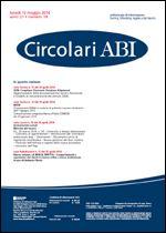 Immagine di Circolari ABI n. 18 del 12 maggio 2014