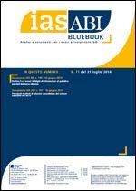 Immagine di Ias ABI BlueBook n. 71 del 31 luglio 2014