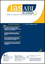 Immagine di Ias ABI BlueBook n. 72 del 9 febbraio 2015