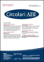 Immagine di Circolari ABI n. 19 del 18 maggio 2015