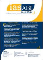 Immagine di Ias ABI BlueBook n. 73 del 21 settembre 2015