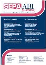 Immagine di SEPA ABI BlueBook N. 31 dell'8 gennaio 2015