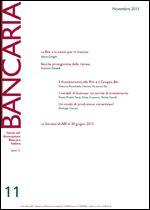 Immagine di Bancaria n. 11/2015