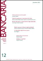 Immagine di Bancaria n. 12/2015
