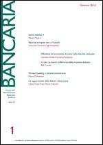 Immagine di Bancaria n. 1/2016